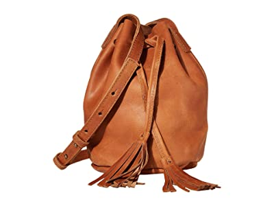 ABLE Maria Bucket Bag (Whiskey) Shoulder Handbags