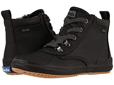Keds Kids Scout Boots (Little Kid/Big Kid) (Black) Girl