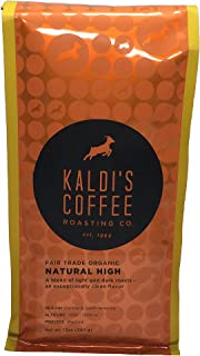 Kaldi's Coffee Roasting Co - Fair Trade Organic Natural High - 12oz Foil Bag