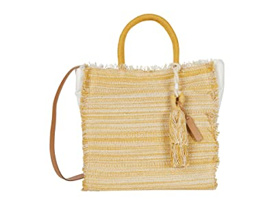 Lucky Brand Khim Tote (Saffron) Handbags