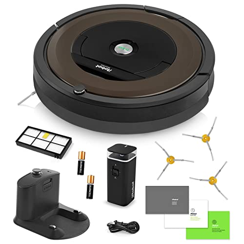 iRobot Roomba 890 Vacuum Cleaning Robot + Dual Mode Virtual Wall Barrier (Batteries) +