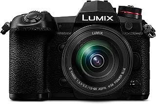 Panasonic Lumix DC-G9MEG-K Systeemcamera met 12-60mm lens (20 MP, 4K/6K, Dual I.S, stof en spatwaterdicht, zwart)