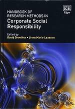 طرق handbook البحث في من الشركات بالمسؤولية الاجتماعية (Research handbooks عمل و إدارة سلسلة)