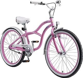 BIKESTAR Bicicleta Infantil para niños y niñas a Partir de 10 años | Bici 24 Pulgadas con Frenos | 24