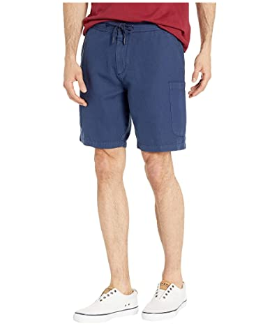 Reyn Spooner Linen Cargo Shorts (Navy) Men