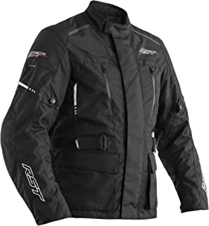RST Tour Master II CE Black Flo Yellow Textile Motorcycle Jacket Size UK46,EU56,XL