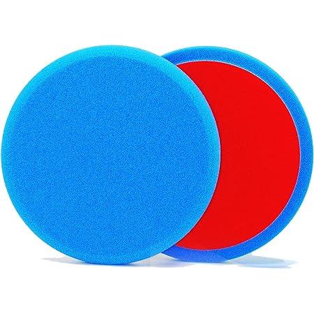 Alclear 5516030s Polierpad Soft Auto Polierschwämme Durchmesser 160x30 Mm Blau 2er Set Polierpad Polieren Pad Schwamm Polierschaum F Poliermaschine Blue Durchmesser Ø 160x30 Mm 5516030s 2 Auto