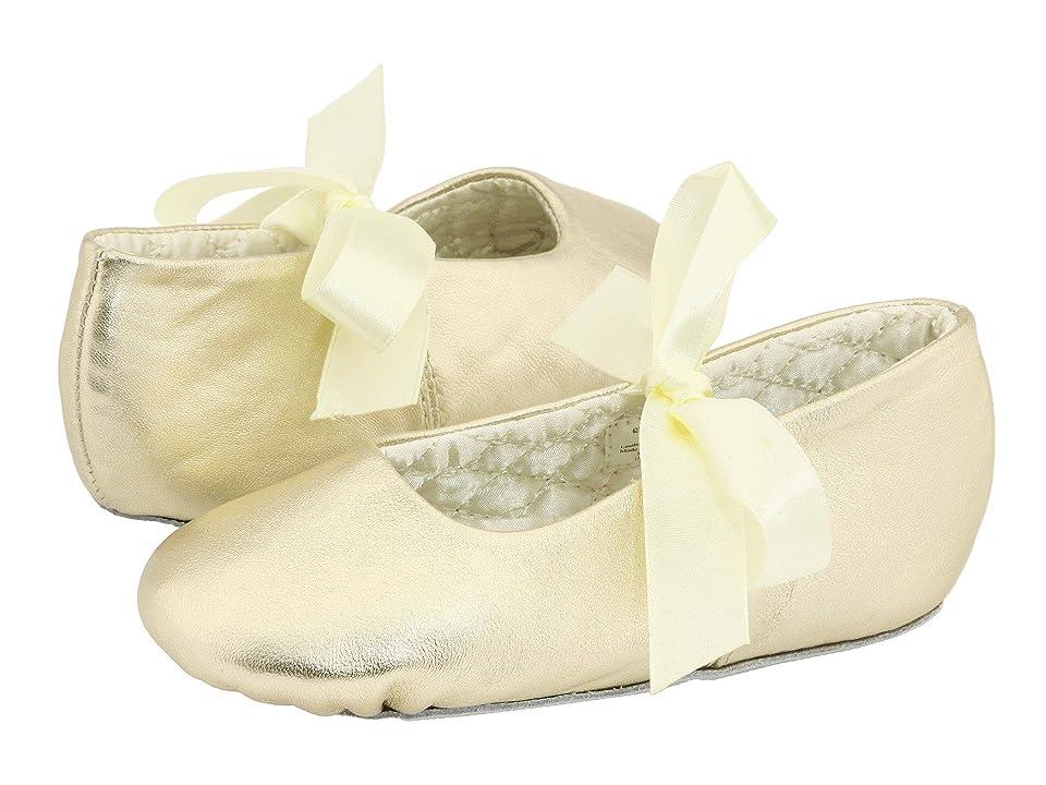 Baby Deer Sabrina Ballet 2 (Toddler/Little Kid) (Gold Leather) Girl
