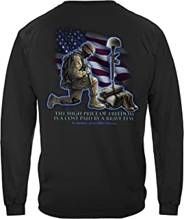 Soldiers Cross Long Sleeve T Shirt MM105LS