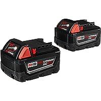 2-Pack Milwaukee M18 18-Volt Extended 4000mAh Capacity Battery