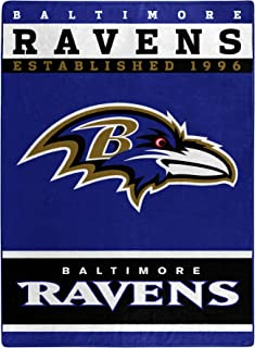 baltimore ravens fleece throw blanket