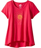 Life is Good Kids - Hello Sun Scoop Neck Swing Tee (Little Kids/Big Kids)