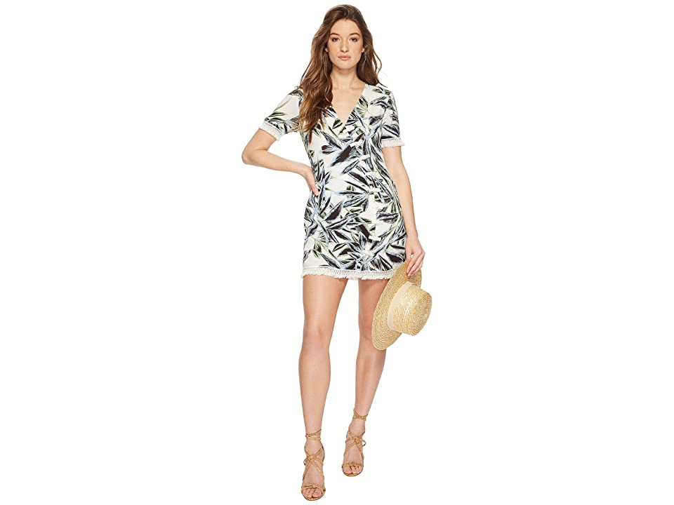 The Jetset Diaries Ocean Palm Dress (Palm Print) Women