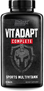 Nutrex Research Vitadapt, Clinically Dosed Sport Multivitamin, Chelated Minerals, KSM-66 Ashwagandha, Schisandra Extract, ...