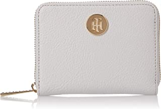 Tommy Hilfiger Core Compact ZA Wallet, Grey, AW0AW07730