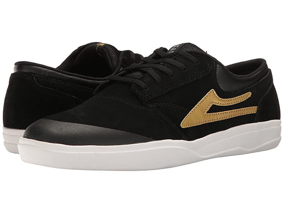 Lakai Griffin XLK (Black/Gold Suede) Men