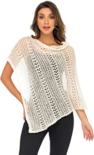 Back From Bali Womens Shrug Poncho, Lightweight Shrug Pullover Sweater Soft