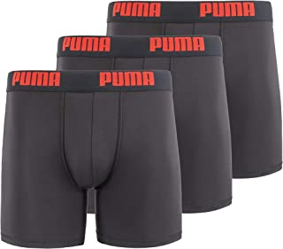 PUMA Men's 3 Pack Performance Boxer Brief