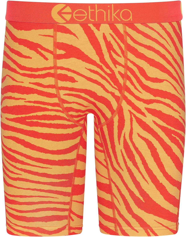 Ethika Mens Staple Boxer Briefs | Tiger Fire