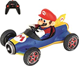 Carrera RC Official Licensed Kart Mach 8 Mario 1: 18 Scale 2.4 Ghz Remote Radio Control Car with Rechargeable Lifepo4 Battery - Kids Toys Boys/Girls