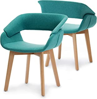 Ivinta Modern Living Dining Room Accent Arm Chairs Set of...