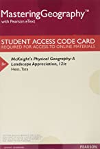 Mastering Geography with Pearson eText -- ValuePack Access Card -- for McKnight's Physical Geography: A Landscape Appreciation (12th Edition)