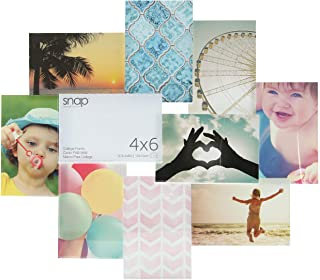 Snap Clear 3D Collage Frame, 10-Opening