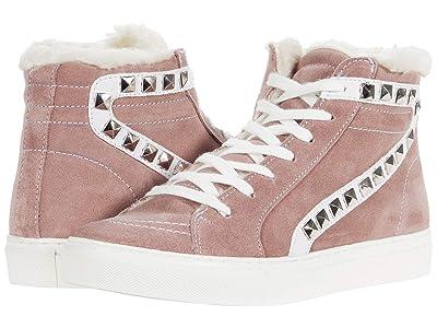 Steve Madden Tracey-F Sneaker (Mauve Suede) Women