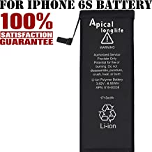Apical Longlife New Replacement Battery Compatible for iPhone 6S - 1715mAh 0 Cycle Battery - 2 Years Warranty