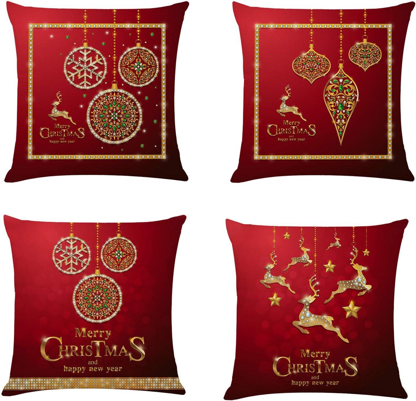 Duobla Pillow Ranking TOP8 Case Christmas Pattern Car Cushion Cove ...