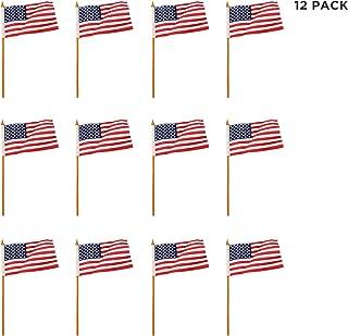 8fd3aac2fb7f (12 Pack) Mini USA American Flags 4
