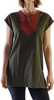 Astrid' Womens Medieval Viking Shirt/Costume Steampunk Cosplay Tunic