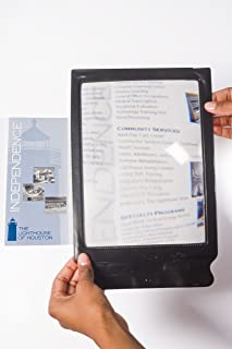 Full Page Reading Magnifying Lens for Books, Menus