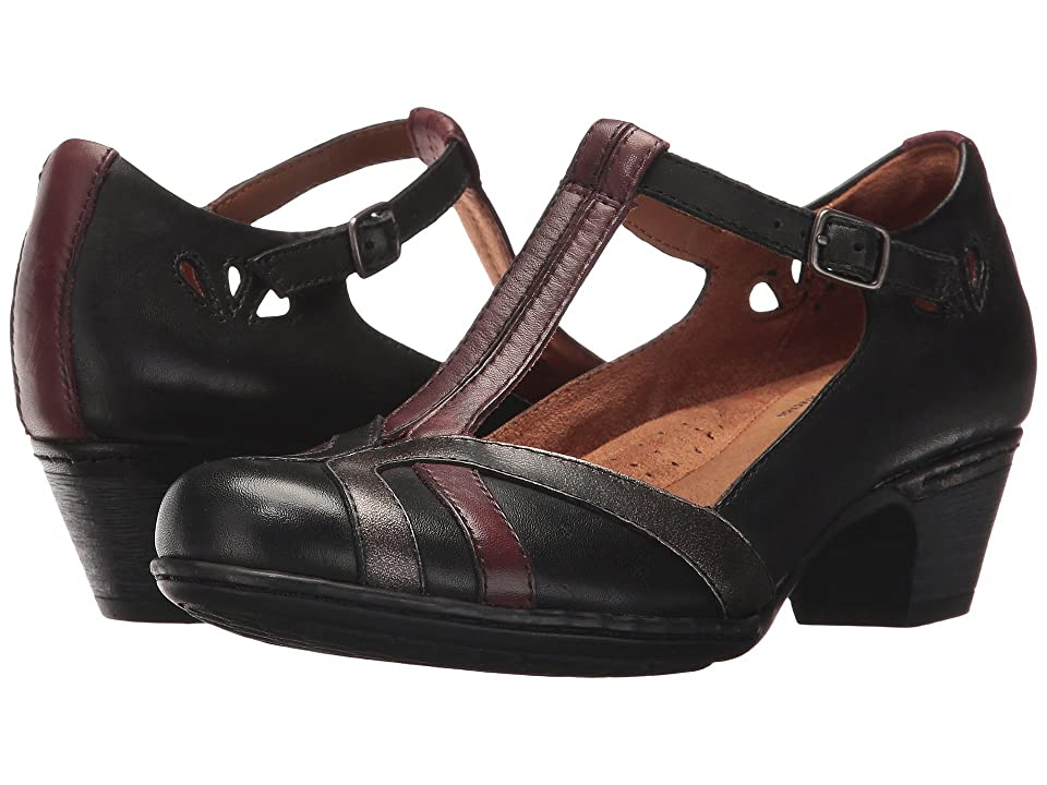Rockport Cobb Hill Collection Cobb Hill Angelina (Black Multi) Women