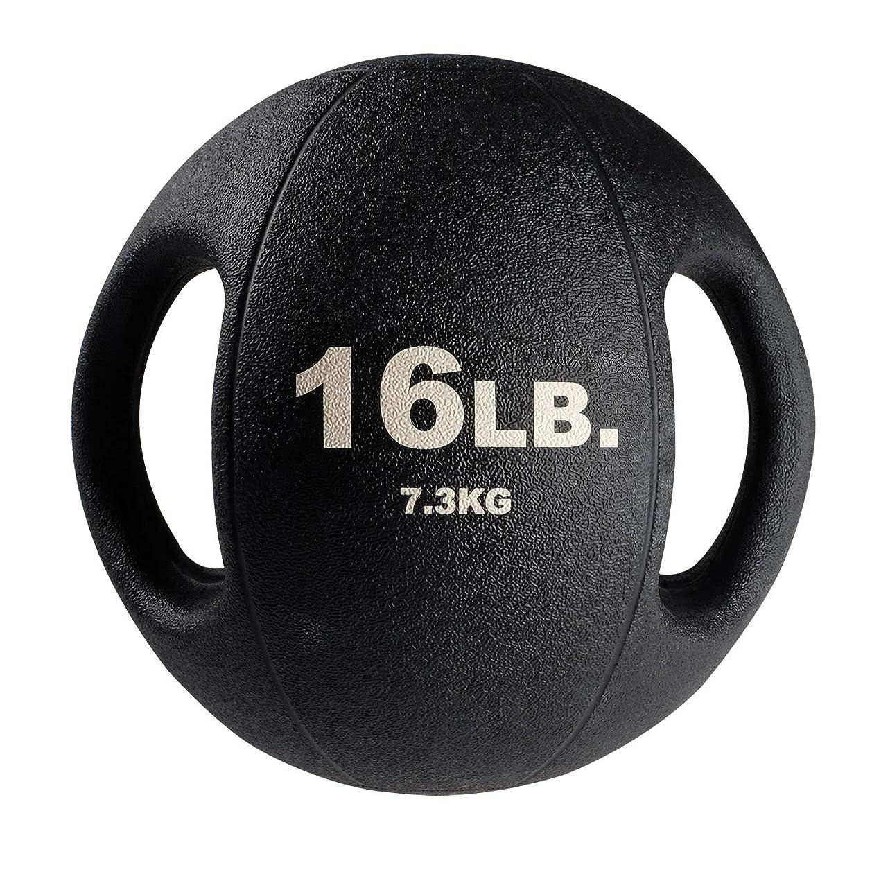 閉じるディスパッチ変わるbody-solidデュアルグリップMedicine Balls