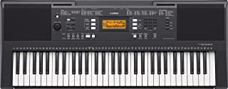 Yamaha PSRE343 61 Key Entry Level Portable Keyboard with Survival Kit B2