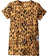 mini rodini - Basic Leopard Dress (Infant/Toddler/Little Kids/Big Kids)