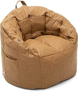 Big Joe Vibe Caramel Montana Leather, One Size
