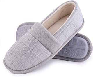 LongBay Women's Memory Foam House Slippers Light House Shoes