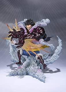 Bandai - Figurine One Piece - Monkey D Luffy Gear Four Leo Bazooka Figuarts Zero 18cm - 4573102551146