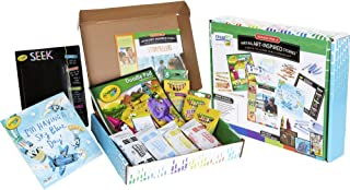 Crayola Writing Project Kits, Reading Comprehension, Grades PreK, 1, 2, Homeschool Supplies for at Home Learning