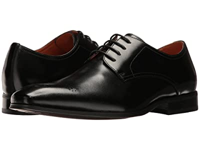 Florsheim Corbetta Perf Toe Oxford (Black Smooth) Men