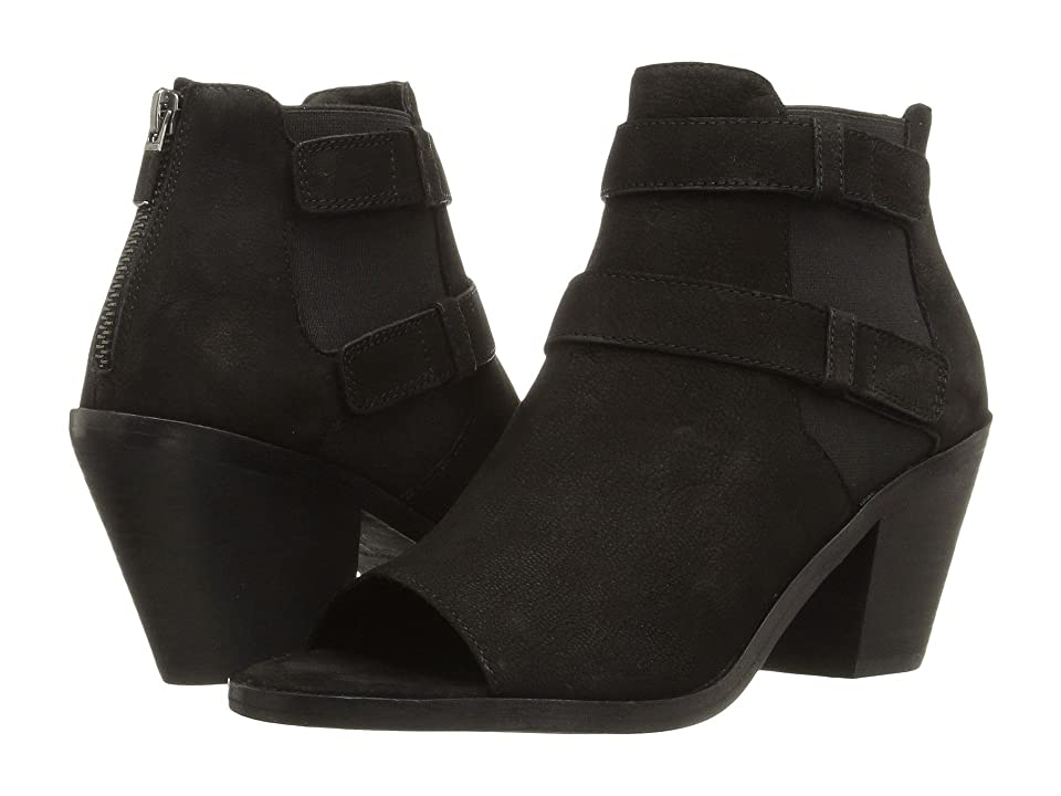 Eileen Fisher List (Black Tumbled Nubuck) High Heels