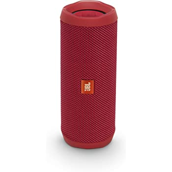JBL FLIP4 Bluetoothスピーカー IPX7防水/パッシブラジエーター搭載/ポータブル レッド JBLFLIP4RED 【国内正規品】