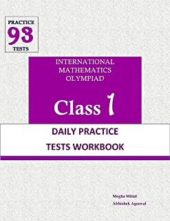 SOF IMO Mathematics Olympiad Class 1 Daily Practice Problems Workbook: 5 Daily Practice Tests Everyday - By Megha Mittal