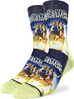 Men's Bill & Ted's Excellent Adventure Socks - Shoe Size 8-13