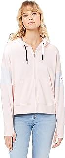 Calvin Klein Women's Colourblock Icon Logo Long Sleeve Hoodie