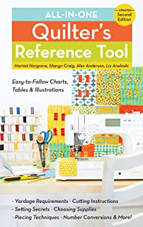All-in-One Quilter's Reference Tool: Easy-to-Follow Charts, Tables & Illustrations - Yardage Requirements - Cutting Instru...