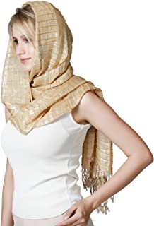 Sun Proof Multi-purpose Eye-catching Wrap Stole Shawl Scarf, Womens Hijab