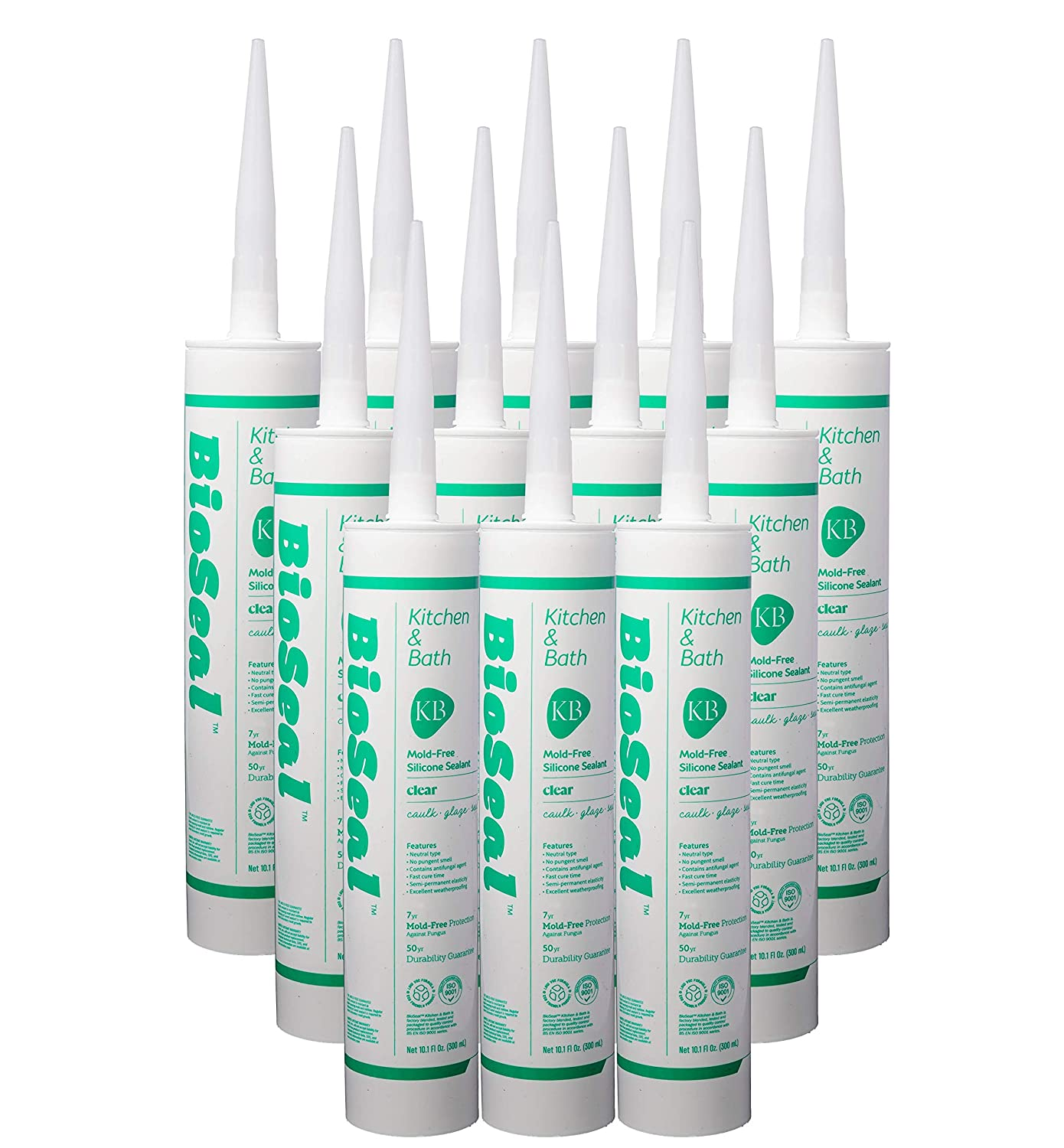 Minneapolis Mall Zered White BioSeal Silicone Sealant Mold Caulk and Waterproof Max 59% OFF